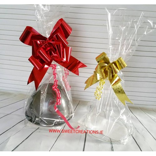 Cellophane Bags 300mm x 500mm Christmas