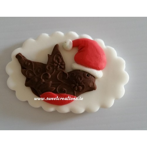 Christmas Robin Cake Topper Christmas