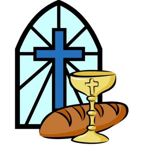 Blue Window Communion Edible Image Communion & Confirmation