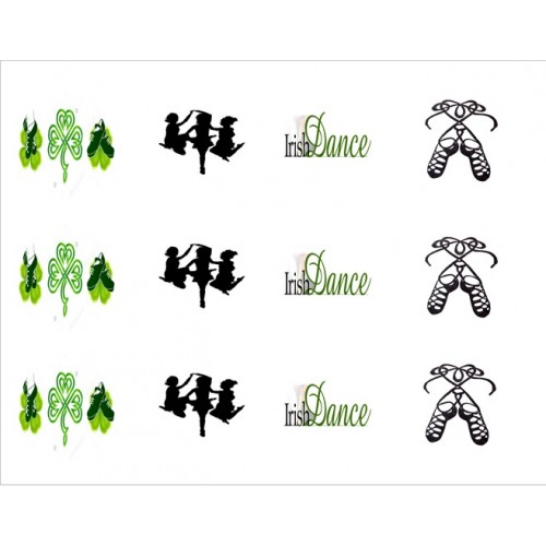 Cupcake Toppers Irish Dance Edible Pictures