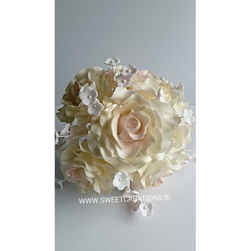 Wired Sugar Rose Bouquet Flowers
