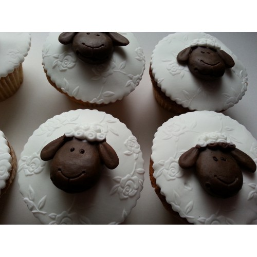 Cupcake Edible Sheep Animals/Farm