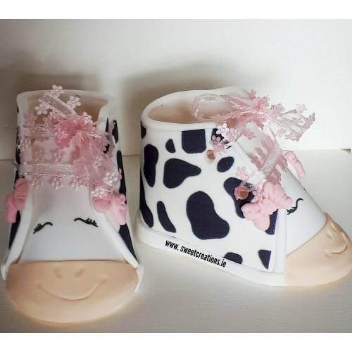 Baby  Booties No.10 Animals/Farm