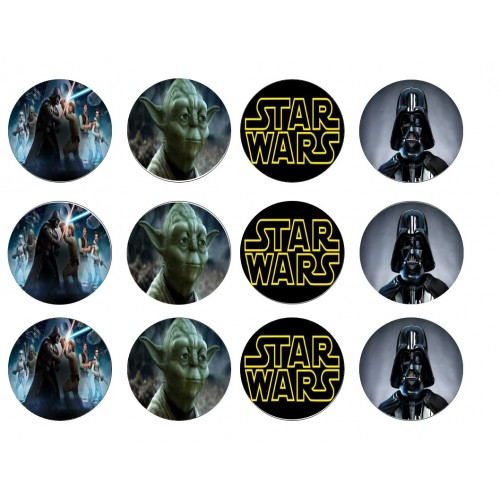 Cupcake Toppers Star Wars