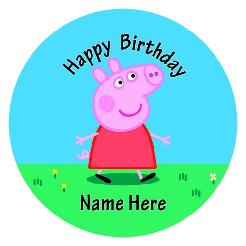Peppa Pig Edible Image Animals/Farm