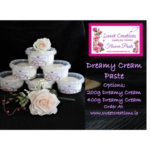 Sweet Creations Flower Paste Dreamy Cream 200g Flowers