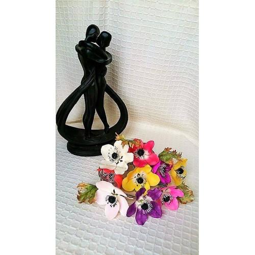 Handmade Anemone Sugar Flowers Birthdays/Anniversary