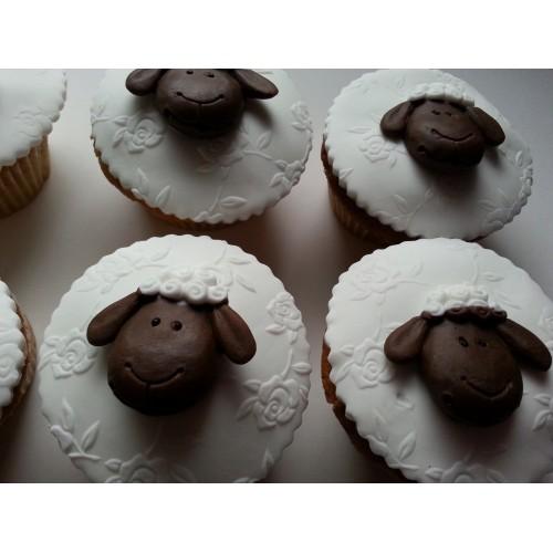 Cupcake Edible Sheep Animals/Farm